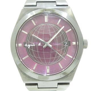 アニエスベー(agnes b.)のアニエスベー 腕時計美品  - 7N32-0DH0(その他)