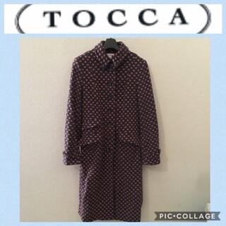 トッカ(TOCCA)の️TOCCA☆コート アウター サイズ2 タイトライン(ロングコート)