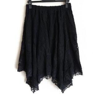 グレースコンチネンタル(GRACE CONTINENTAL)のグレースコンチネンタル スカート 36 S 黒(その他)