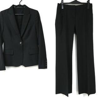 セオリー(theory)のセオリー レディースパンツスーツ 2 S - 黒(スーツ)