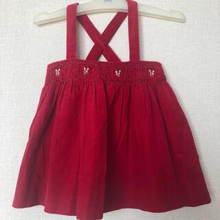 ラルフローレン(Ralph Lauren)の美品  RalphLauren  ジャンパースカート   サイズ80cm(スカート)