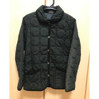 IOLI 黒 キルティングジャケット ジャンパー ジャンバー コート