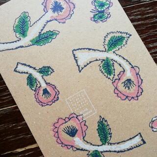 ミナペルホネン(mina perhonen)の⭐ブルーナ様専用です🌼ミナペルホネン ポストカード2枚 送料込み❕(使用済み切手/官製はがき)