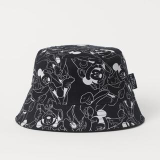 エイチアンドエム(H&M)のファンタジア H&M ミッキー リバーシブルバケットハット 新品未使用(ハット)