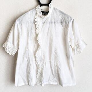 コムデギャルソン(COMME des GARCONS)のトリココムデギャルソン シャツブラウス M(シャツ/ブラウス(半袖/袖なし))