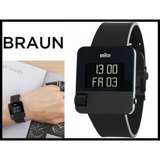 ブラウン(BRAUN)の新品 ブラウン BN0106BKBKG イージースクロール デジタル 腕時計(腕時計(デジタル))