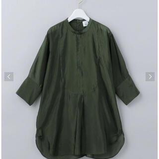 ビューティアンドユースユナイテッドアローズ(BEAUTY&YOUTH UNITED ARROWS)のロク <6(ROKU)>CUPRA DRESS SHIRT/シャツ(シャツ/ブラウス(長袖/七分))