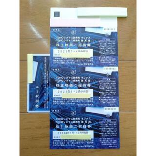 ◆要カード返却◆東京楽天地 株主優待 映画ご招待券 3枚 11~4月 女性名義(その他)