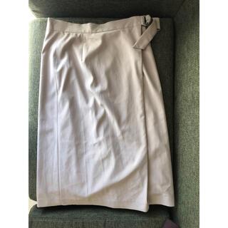 クードシャンス(COUP DE CHANCE)のクードシャンス ウエストベルトデザインタイトスカート (ひざ丈スカート)