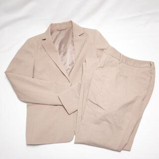 ジーユー(GU)の美品 GU スーツ 上下セット ベージュ S M ジーユー ♪(スーツ)