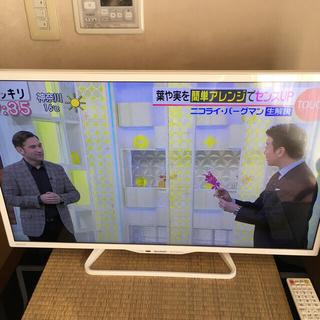 AQUOS - SHARP AQUOS 32型テレビ(ホワイト、2016年製)