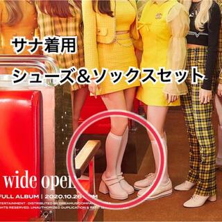 ウェストトゥワイス(Waste(twice))の新品未使用 衣装同型 サナ twice(ハイヒール/パンプス)