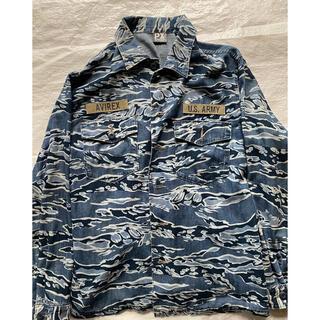 アヴィレックス(AVIREX)のAVIREX ファティーグシャツ ジャケット(ミリタリージャケット)