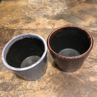 フランフラン(Francfranc)の鉢カバー2個セット フランフラン(プランター)