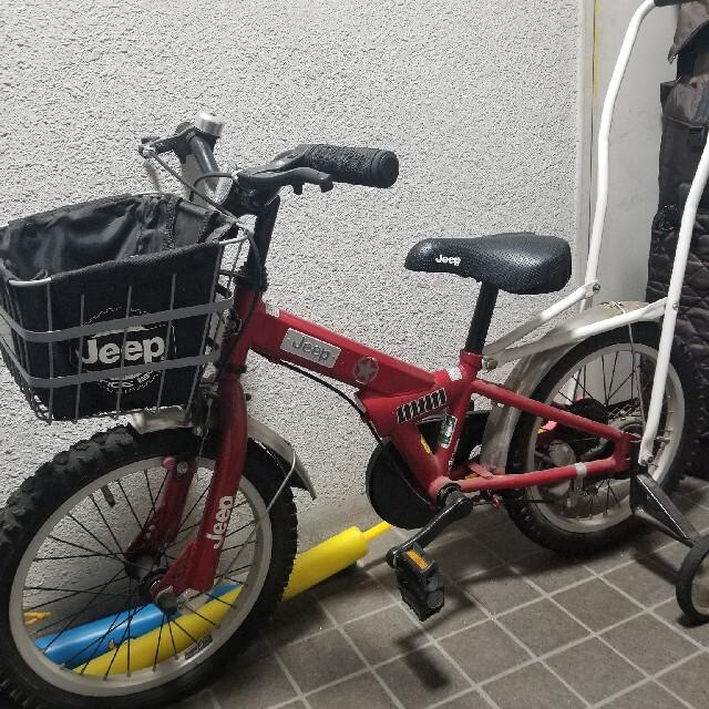 Jeep(ジープ)のジープ★子供用自転車★☆ キッズ/ベビー/マタニティの外出/移動用品(自転車)の商品写真
