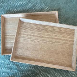 ムジルシリョウヒン(MUJI (無印良品))の新品未使用⭐︎角型トレー1枚(テーブル用品)