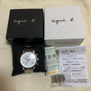 アニエスベー(agnes b.)の新品未使用❗️ オンタイム限定 アニエスベー  腕時計 ソーラー マルチェロ (腕時計(アナログ))