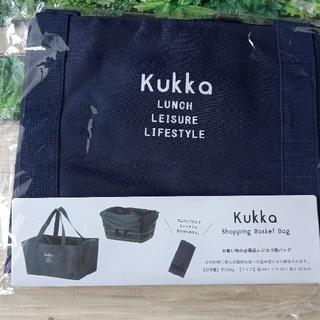 クッカ(kukkA)の《新品》Kukka  クッカ レジカゴバッグ  ショッピングバッグ(かごバッグ/ストローバッグ)