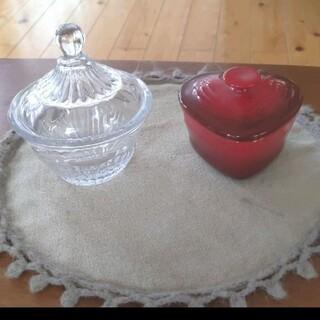 ルクルーゼ(LE CREUSET)のル・クルーゼ フランフラン 小物入れ ガラスケース(小物入れ)