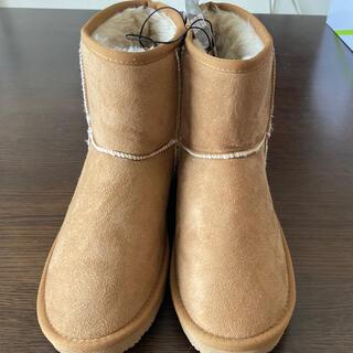 ジーユー(GU)の新品タグ付きGUムートンタッチブーツ(ブーツ)