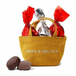 ディーンアンドデルーカ(DEAN & DELUCA)のDEAN&DELUCA ホリデーミニトート(キャラメルイエロー)【チョコレート】(菓子/デザート)