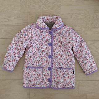 ベルメゾン(ベルメゾン)の千趣会 GITA   中綿ジャンパー 花柄 サイズ110(ジャケット/上着)
