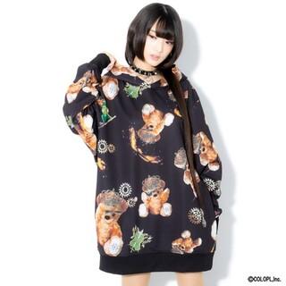 ハニーシナモン(Honey Cinnamon)のTRAVAS TOKYO【トラヴァストーキョー】Myriad of bears (パーカー)