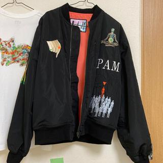 パム(P.A.M.)の【激レア】P.A.M perspective BOMBER JACKET(ブルゾン)