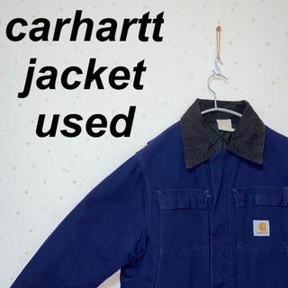 カーハート(carhartt)の【carhartt】ダックジャケット USA製 オーバーサイズ used(Gジャン/デニムジャケット)
