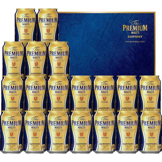 サントリー(サントリー)のサントリー ザ・プレミアム・モルツ ビール ギフト セット 350ml×19本  食品/飲料/酒の酒(ビール)の商品写真