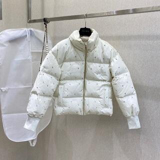miumiu - MIUMIU ブラック ダウンコート ダウンジャケット36