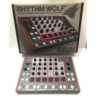 AKAI Rhythm Wolf リズムウルフ アナログドラムマシン シンセ(その他)
