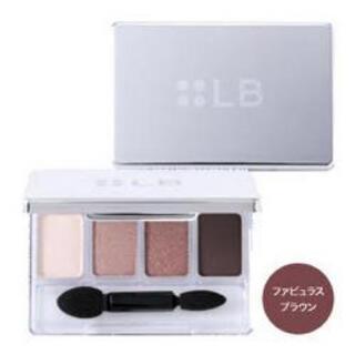エルビーゼロスリー(LB-03)のLB エルビー LB ニュアンスブラウンアイパレットファビュラスブラウン一回使用(アイシャドウ)