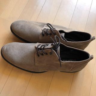 スェードメンズ靴27センチ(ローファー/革靴)