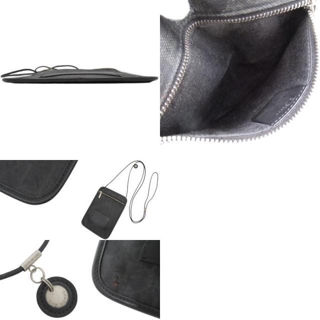 DIOR HOMME(ディオールオム)のディオール・オムショルダーバッグ ブラック黒 グレー灰 40800057712 メンズのバッグ(ショルダーバッグ)の商品写真
