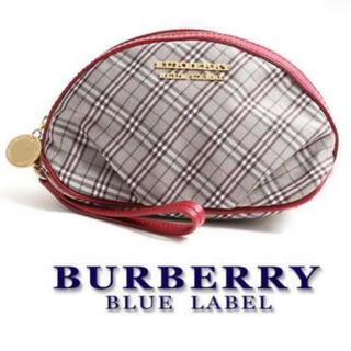 バーバリーブルーレーベル(BURBERRY BLUE LABEL)のBURBERRY BLUE LABEL  ポーチ(ポーチ)