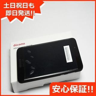 アクオス(AQUOS)の新品 SH-01K ブラック 本体 白ロム (スマートフォン本体)