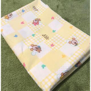 ミッキーマウス(ミッキーマウス)のベビーミッキー/ベビー布団 敷布団カバー 90×130(シーツ/カバー)