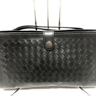 ボッテガヴェネタ(Bottega Veneta)のボッテガヴェネタ セカンドバッグ美品  黒(セカンドバッグ/クラッチバッグ)