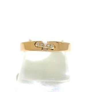 ショーメ(CHAUMET)のショーメ リング 56美品  5Pダイヤ(リング(指輪))
