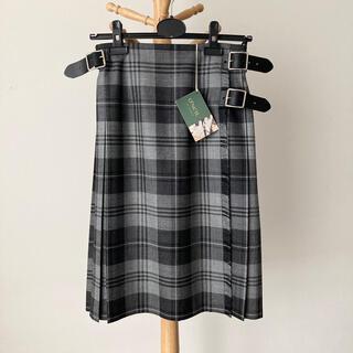 オニール(O'NEILL)の【新品】O'NEIL of DUBLIN 100%ウールキルトスカート サイズ8(ひざ丈スカート)
