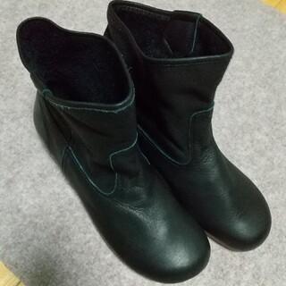 サマンサモスモス(SM2)の🔴いおさま専用❗️本革のショートブーツ MADE IN JAPAN Lサイズ(ブーツ)