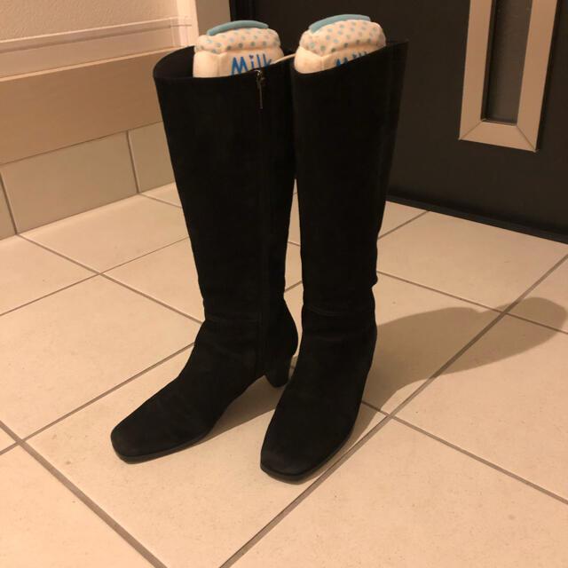 REGAL(リーガル)の★リーガル スエード ロングブーツ レディースの靴/シューズ(ブーツ)の商品写真