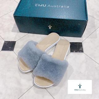 EMU - EMU エミュー ◇ ファーサンダル グレー