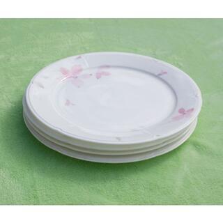 ニッコー(NIKKO)のNIKKO ファイン ボーンチャイナ ディナープレート 26センチ 大皿 4枚 (食器)