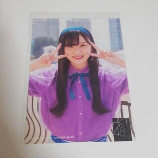 エイチケーティーフォーティーエイト(HKT48)のHKT48 荒巻美咲 生写真(早送りカレンダー)(アイドルグッズ)