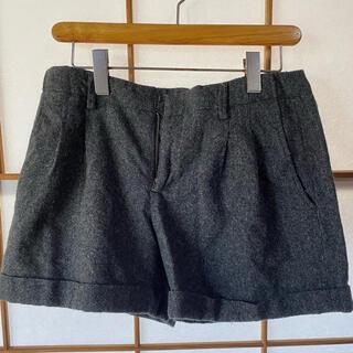 ギャップ(GAP)のGap ショートパンツ  ウール素材 秋 冬 グレー(ショートパンツ)