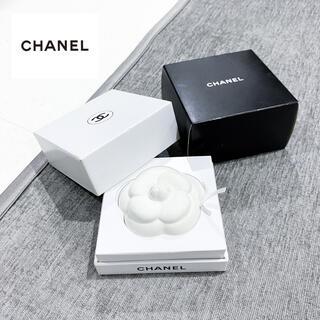 シャネル(CHANEL)のシャネル CHANEL ◇ ホワイト カメリア オブジェ(その他)
