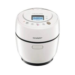 シャープ(SHARP)の【新品】ヘルシオホットクック KN-HW10E-W (調理機器)