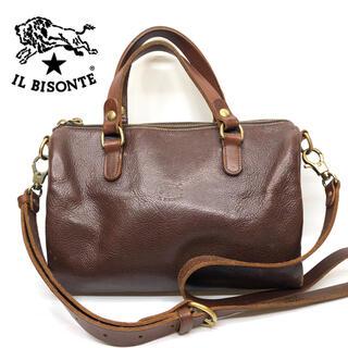 イルビゾンテ(IL BISONTE)のイルビゾンテ 本革 ハンドバッグ ショルダーバッグ(ハンドバッグ)